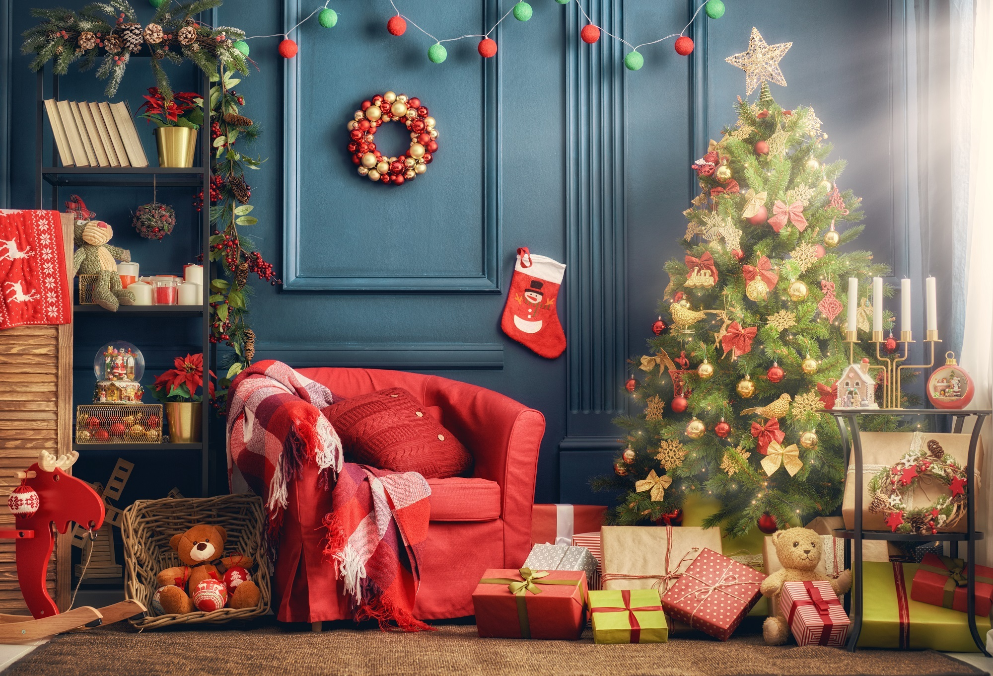 Great Christmas decorating ideas for small spaces